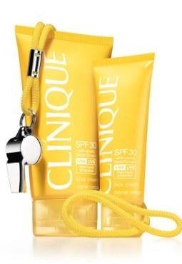 Crème solaire Clinique