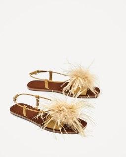 ZARA, sandales 49.90 CHF