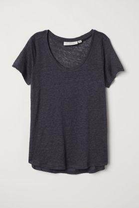 T-Shirt en lin H&M 24.95 CHF