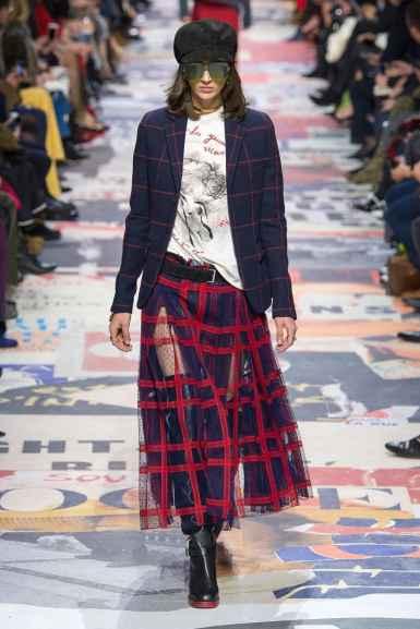 Défilé Dior automne hiver 2018-19