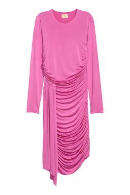 Robe drapée H&M 39.95 soldes